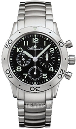 Breguet Type XX Black/Steel Ø39 mm 3800ST-92-SW9