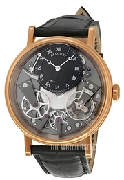Breguet Tradition Skeleton cut/Leather Ø40 mm 7057BR-G9-9W6