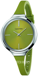 Calvin Klein Lively Green/Rubber Ø34 mm K4U231WL