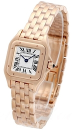 Cartier Panthere De Cartier Silver colored/18 carat rose gold WGPN0006
