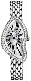 Cartier Crash Silver colored/18 carat white gold WL420051