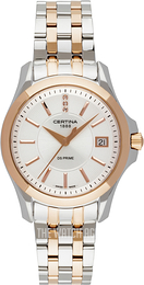 Certina DS Prime Silver colored/Rose gold colored steel Ø32 mm C004.210.22.036.00
