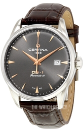 Certina DS 1 Grey/Leather Ø40 mm C029.807.16.081.01