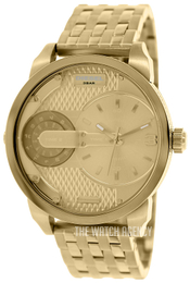 Diesel Champagne colored/Yellow gold toned steel Ø46 mm DZ7306