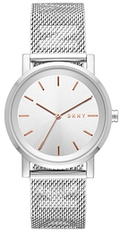 DKNY Dress Silver colored/Steel Ø34 mm NY2620