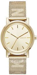 DKNY Dress Yellow gold toned/Yellow gold toned steel Ø34 mm NY2621