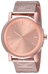 DKNY Dress Rose gold colored/Rose gold colored steel Ø34 mm NY2622