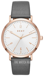 DKNY White/Leather Ø36 mm NY2652