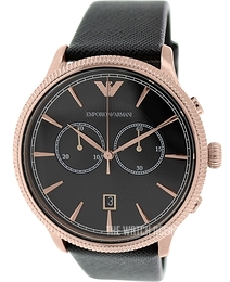 Emporio Armani Classic Black/Leather Ø43 mm AR1792