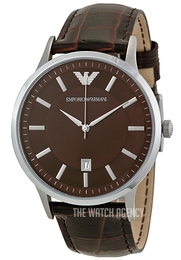 Emporio Armani Dress Brown/Leather Ø43 mm AR2413