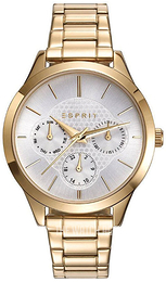 Esprit Sport Silver colored/Yellow gold toned steel Ø36 mm ES109622002