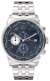 Executive Club Blue/Steel Ø42 mm EX-1001-12