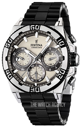 Festina Sport White/Steel Ø46 mm F16659-1