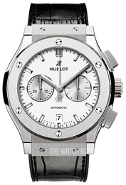 Hublot Classic Fusion Silver colored/Leather Ø42 mm 541.NX.2611.LR