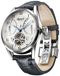 Ingersoll Silver colored/Leather Ø44 mm IN6901SL