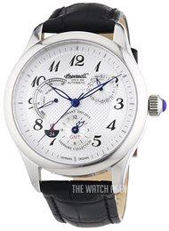 Ingersoll White/Leather Ø44 mm IN8410WH