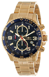 Invicta Specialty Blue/Yellow gold toned steel Ø45 mm 14878