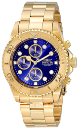 Invicta Pro Diver Blue/Yellow gold toned steel Ø43.5 mm 19157