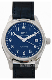 IWC Pilots Classic Blue/Leather Ø36 mm IW324008