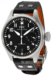 IWC Pilots Classic Black/Leather Ø46 mm IW500912