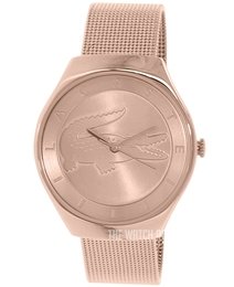 Lacoste Valencia Rose gold colored/Rose gold colored steel Ø38 mm 2000872