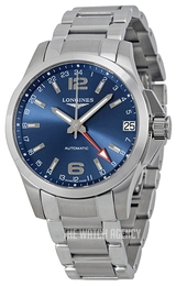 Longines Conquest Blue/Steel Ø41 mm L3.687.4.99.6
