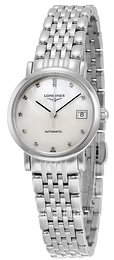 Longines Elegant White/Steel Ø25.5 mm L4.309.4.87.6