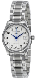 Longines Master Silver colored/Steel Ø25.5 mm L2.128.4.78.6