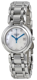 Longines PrimaLuna White/Steel Ø26.5 mm L8.110.4.87.6