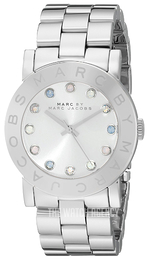 Marc by Marc Jacobs Amy Dexter Silver colored/Steel Ø36.5 mm MBM3214