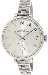 Marc by Marc Jacobs Baker Silver colored/Steel Ø36 mm MBM3362