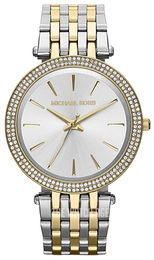 Michael Kors Darci Silver colored/Gold toned steel Ø39 mm MK3215