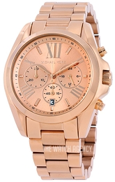 Michael Kors Bradshaw Rose gold colored/Rose gold colored steel Ø43 mm MK5503