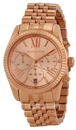 Michael Kors Lexington Rose gold colored/Rose gold colored steel Ø38 mm MK5569