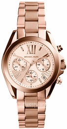 Michael Kors Bradshaw Rose gold colored/Rose gold colored steel Ø35 mm MK5799
