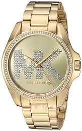 Michael Kors Bradshaw Yellow gold toned/Yellow gold toned steel Ø43 mm MK6555