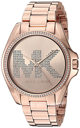 Michael Kors Bradshaw Rose gold colored/Rose gold colored steel Ø43 mm MK6556