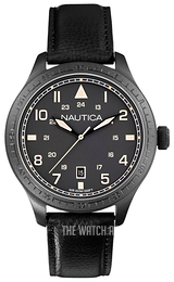 Nautica BFD 105 Grey/Leather Ø44 mm A11107G