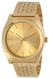 Nixon The Time Teller Yellow gold toned/Yellow gold toned steel Ø37 mm A045511-00