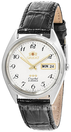 Orient Classic White/Leather Ø37 mm FAB0000LW9