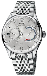 Oris Culture Silver colored/Steel Ø43 mm 01 111 7700 4061-Set 8 23 79