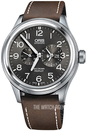 Oris Aviation Grey/Leather Ø44.7 mm 01 690 7735 4063-07 5 22 05FC