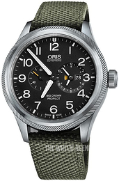Oris Aviation Black/Leather Ø44.7 mm 01 690 7735 4164-07 5 22 14FC