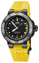 Oris Diving Black/Rubber Ø46 mm 01 733 7675 4754-Set RS