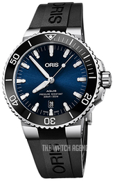 Oris Diving Blue/Rubber Ø43.5 mm 01 733 7730 4135-07 4 24 64EB
