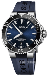 Oris Diving Blue/Rubber Ø43.5 mm 01 733 7730 4135-07 4 24 65EB