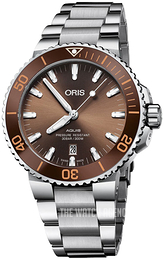 Oris Diving Brown/Steel Ø43.5 mm 01 733 7730 4152-07 8 24 05PEB