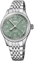 Oris Aviation Green/Steel Ø36 mm 01 754 7749 4067-07 8 17 22