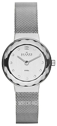 Skagen Leonora Silver colored/Steel Ø25 mm 456SSS