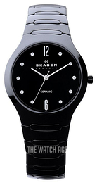 Skagen Black/Ceramic Ø37 mm 817SBXBC